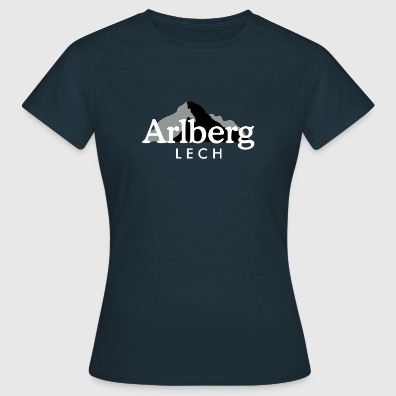 Lech am Arlberg - Frauen T-Shirt