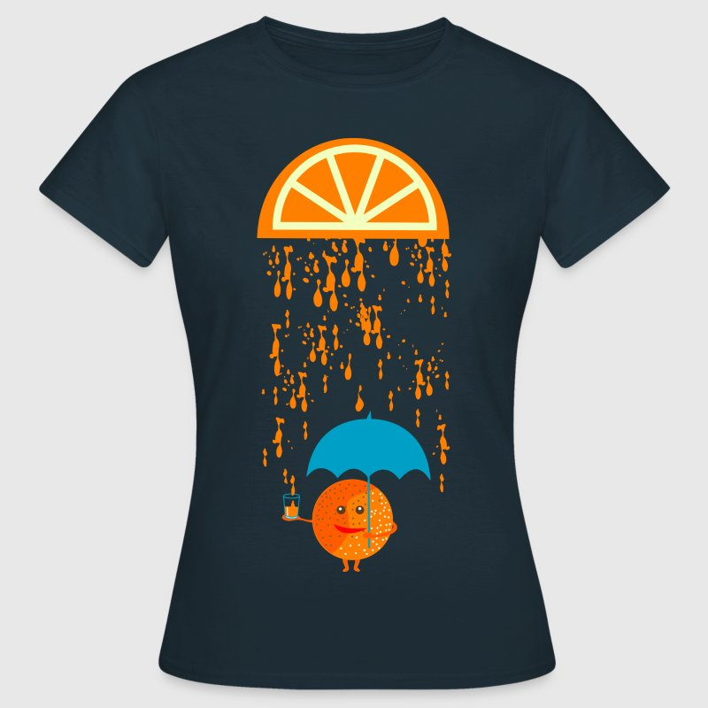 lustiges orangensaft t shirt von spontania spreadshirt. Black Bedroom Furniture Sets. Home Design Ideas
