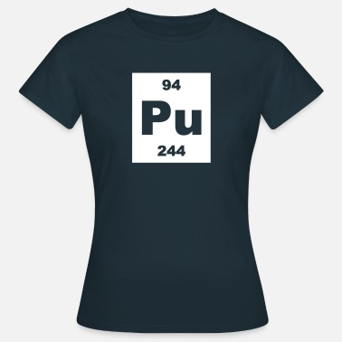 Plutonium Element 94 - pu (plutonium) - Short-inv - Vrouwen T-shirt