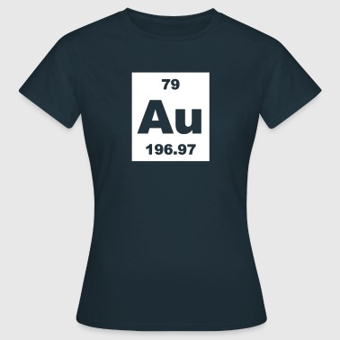 Gold (Au) (element 79) - Women's T-Shirt