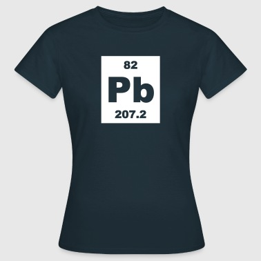 Lead (Pb) (element 82) - Women's T-Shirt
