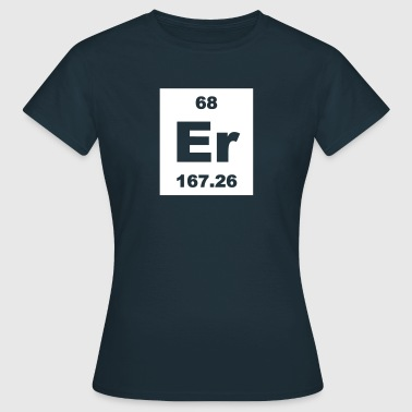 Erbium (Er) (element 68) - Women's T-Shirt