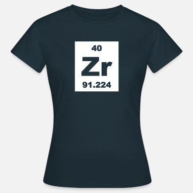 Zirconium Zirconium (Zr) (element 40) - Women's T-Shirt