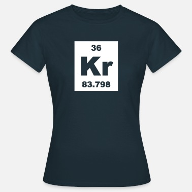 Krypton Krypton (Kr) (element 36) - Women's T-Shirt