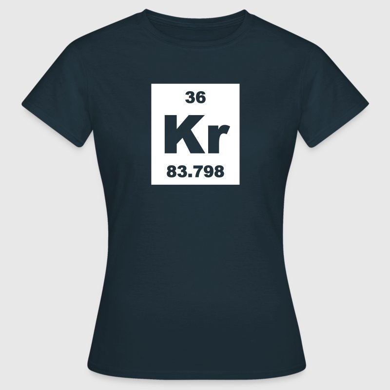 Krypton (Kr) (element 36) - Women's T-Shirt