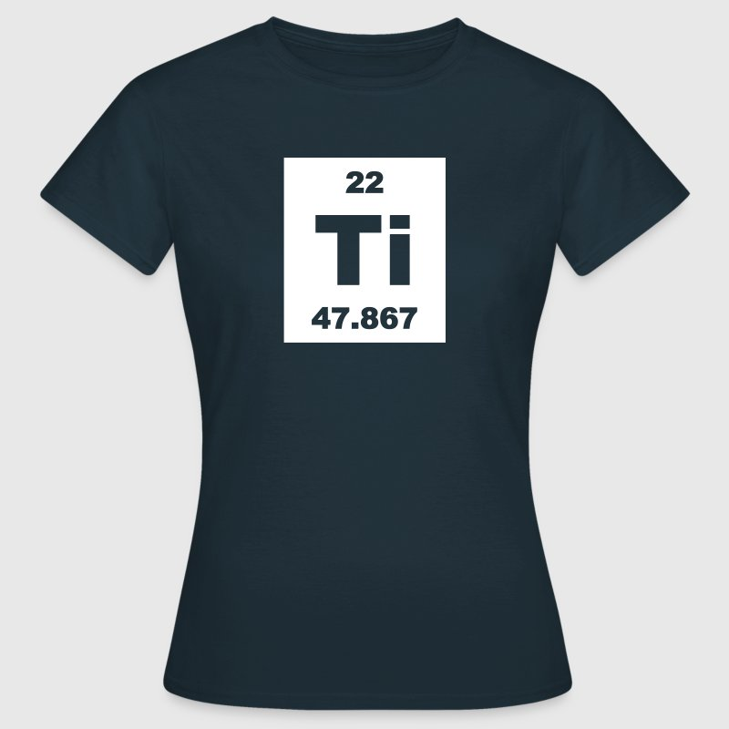 Titanium (Ti) (element 22) - Women's T-Shirt