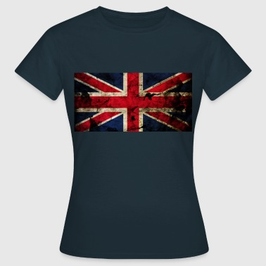 Union Jack Grunge Flag - Women's T-Shirt