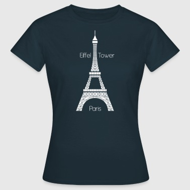 Eiffel Tower (dark) - Frauen T-Shirt