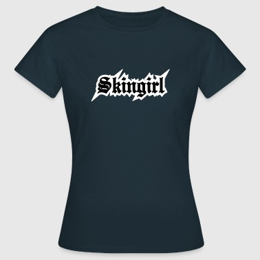 2 colors - Skingirl My Way of Life Skingirls Bootgirls Rudegirls Skinheads Oi! - Maglietta da donna