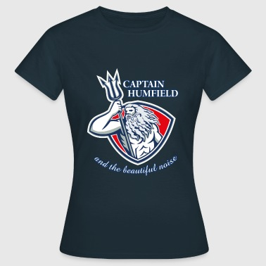 Captain Humfield Logo - Frauen T-Shirt