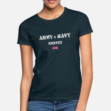 Navy Army v Navy - Women's T-Shirt