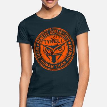 Mer Tyrell Corporation Genetic Replicants More Human - T-shirt dam