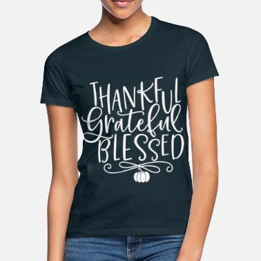 Thanksgiving Food Turkey Thanksgiving Day Harvest - Women's T-Shirt