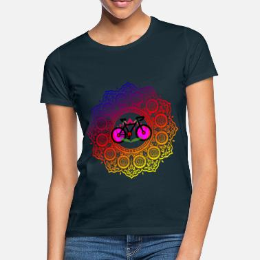 New Age Lotus Mandala | Spiritual New Age Bike Yoga - Frauen T-Shirt