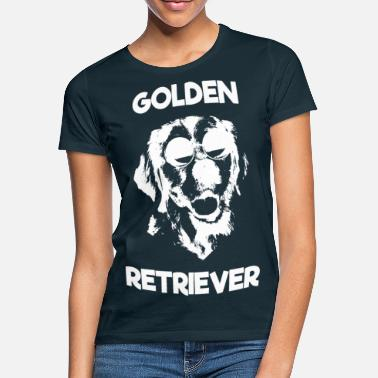 Golden Retriever sunglasses - Women's T-Shirt