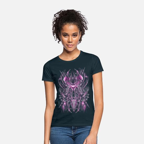 Band T-Shirts - Metal in Pink - Sci-Twins - Women's T-Shirt navy