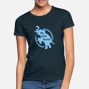 Spirit Elefant - Elephant / MY SPIRIT ANIMAL - T-skjorte for kvinner