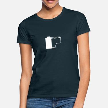 Kodak Film roll (slightly transparent white) Gift film - Women's T-Shirt