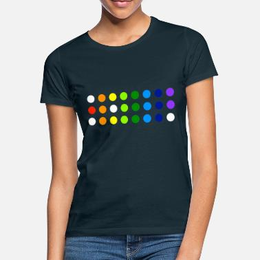 Rainbowdot - Frauen T-Shirt