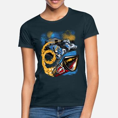 World World Of Tanks Blitz Birthday Party - Women's T-Shirt