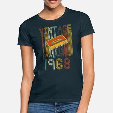 Birth Year Vintage 1968 retro - Women's T-Shirt
