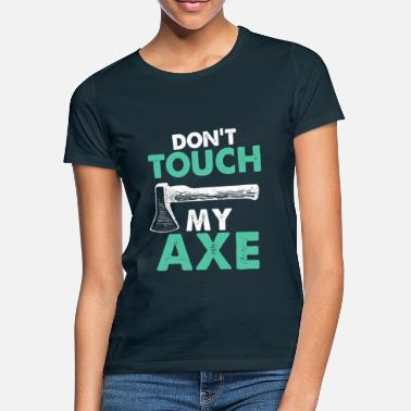 Axe Ax throw Ax throw Ax gift - Women's T-Shirt