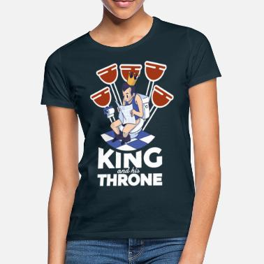 Throne King and his Throne - Frauen T-Shirt