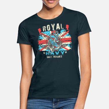 Navy Royal Navy Unit Gift Gift Idea - Women's T-Shirt