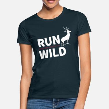 RUN WILD Temple Yard & Beauty Hill - Maglietta donna