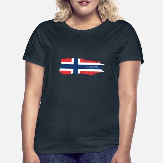 Norge norske flagg ord T skjorte   Fruugo NO