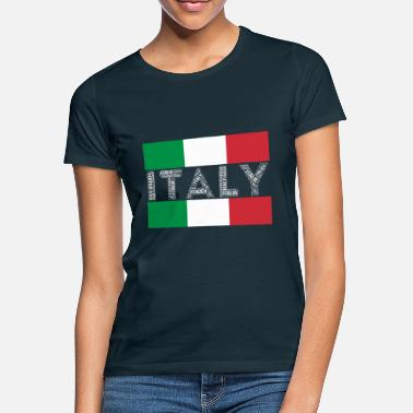 Country Of Birth Italy country flags nation football - Women's T-Shirt