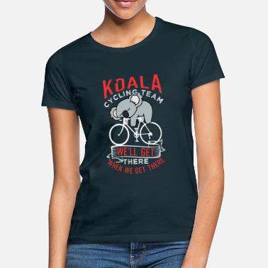 Cycling Lover Koala Cycling Team - Women's T-Shirt