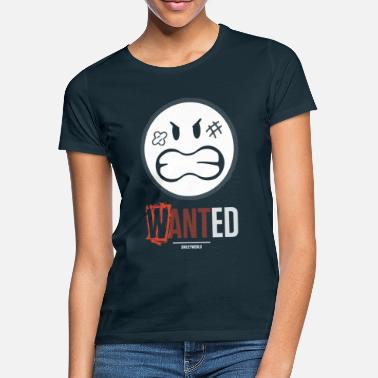 SmileyWorld Wanted Gesuchter Smiley - Frauen T-Shirt