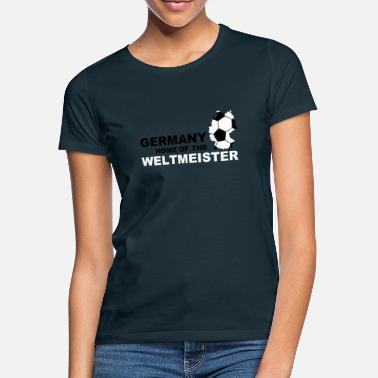 Sommermärchen germany home of the weltmeister - Frauen T-Shirt