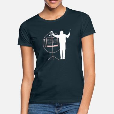 Conductor Choir Director Gift Conductor Orchestra Music - Women's T-Shirt