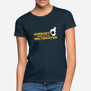 Fejre germany home of the weltmeister 2 - T-shirt dame