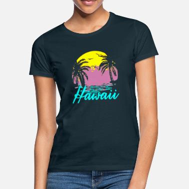 Honolulu Hawaii Honolulu Surfer Spruch Strand - Frauen T-Shirt