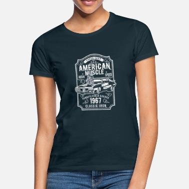 Muscle Car American Muscle Car - Frauen T-Shirt