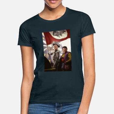 Don KeyHotair - Nigel Farage/Don Quixote mash-up - Women's T-Shirt