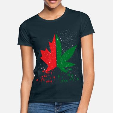 Canada. Cannabis Legalization. Canada great. Weed - Women's T-Shirt