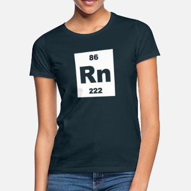 Radon Element 86 - rn (radon) - Short-inv - Frauen T-Shirt