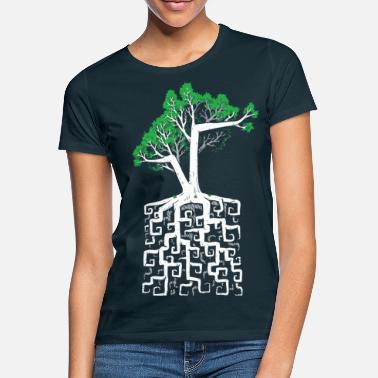 Square Square Root - Women's T-Shirt