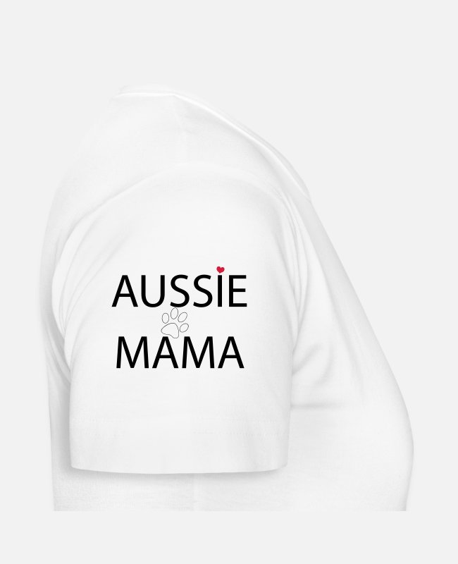 Aussie T-Shirts - Aussie mom - Women's T-Shirt white