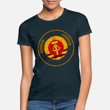 Germany Ossi East Germany GDR stamp seal - Women's T-Shirt
