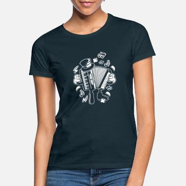 Accordion Accordion, accordion - Women's T-Shirt