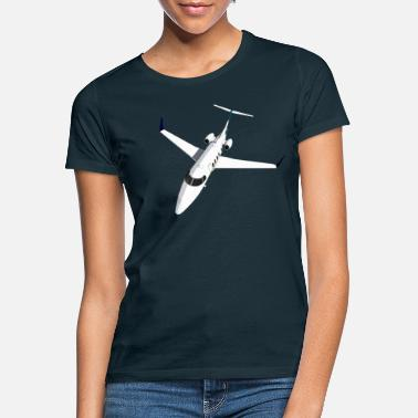 Jet Private Jet Airplane Jet Jet - Vrouwen T-shirt