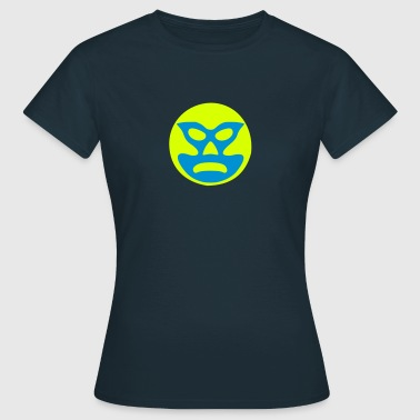Face Mask Wrestling - Dame-T-shirt