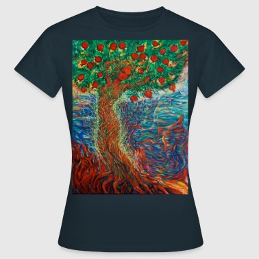 Tree of Life Lebensbaum GRANATAPFEL Beauty  - Frauen T-Shirt