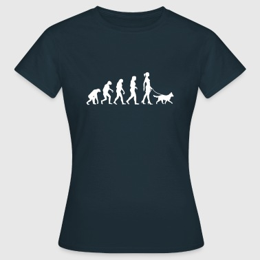 Evolution - Medium Dog - Women's T-Shirt