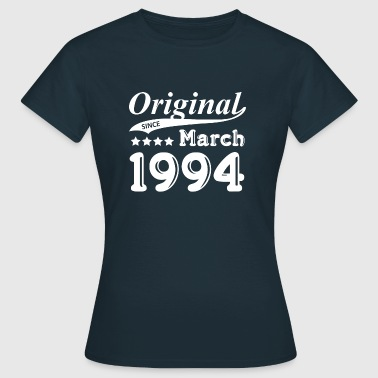 Original Since March 1994 - Frauen T-Shirt